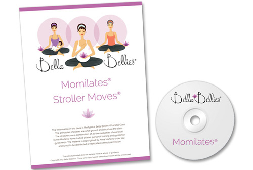 Momilates Pilates for Mommies! Book